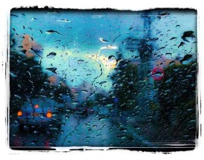 נסיעה גשומה