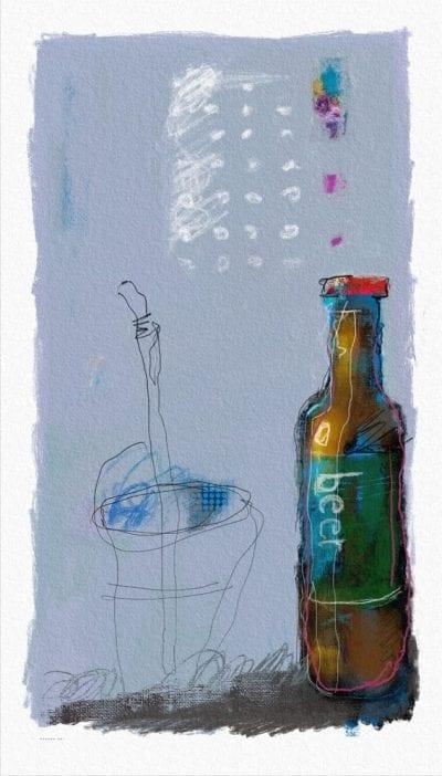 בירה עם חברים